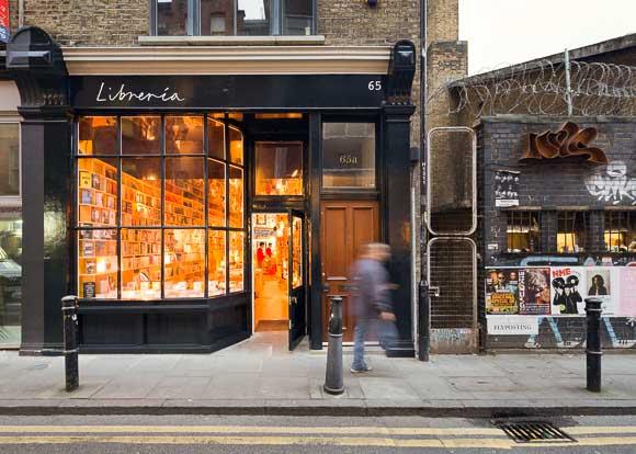 libreria book shop london